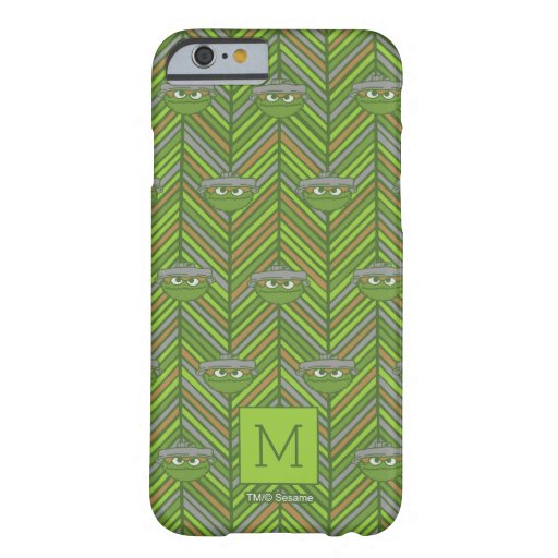 Oscar the Grouch | 80's Throwback Pattern Barely There iPhone 6 Case