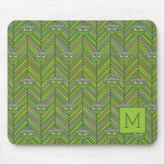 Oscar the Grouch | 80's Throwback Pattern Mouse Pad