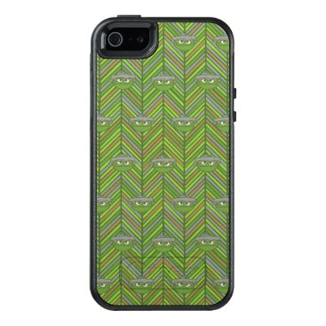 Oscar the Grouch | 80's Throwback Pattern OtterBox iPhone 5/5s/SE Case