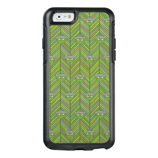 Oscar the Grouch | 80's Throwback Pattern OtterBox iPhone 6/6s Case