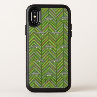 Oscar the Grouch | 80's Throwback Pattern OtterBox Symmetry iPhone X Case