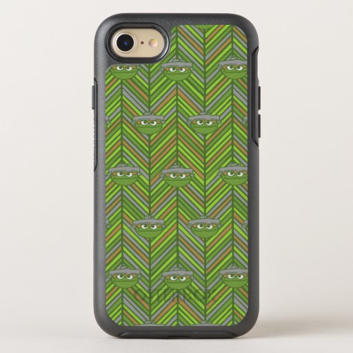 Oscar the Grouch | 80's Throwback Pattern OtterBox Symmetry iPhone SE/8/7 Case