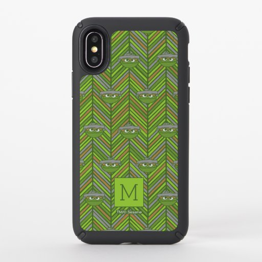 Oscar the Grouch | 80's Throwback Pattern Speck iPhone X Case