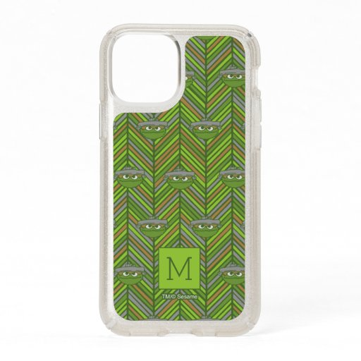 Oscar the Grouch | 80's Throwback Pattern Speck iPhone 11 Pro Case