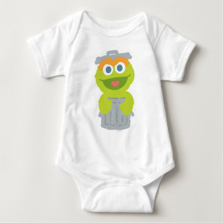 Oscar the Grouch Baby Baby Bodysuit
