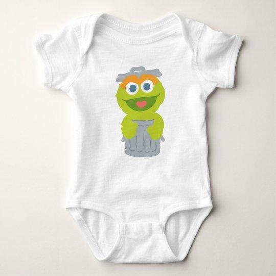 Oscar The Grouch Baby Baby Bodysuit