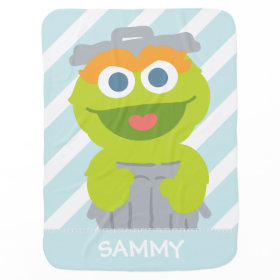 Oscar the Grouch Baby Receiving Blankets