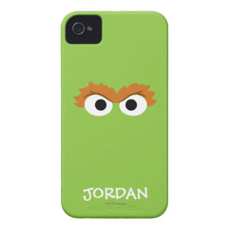 Oscar the Grouch Big Face | Add Your Name iPhone 4 Case