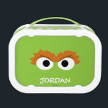 """Oscar the Grouch Big Face   Add Your Name Lunch Box<br><div class=""""desc"""">Guess who? It&#39;s Oscar the Grouch      This item is recommended for ages 2 . �  2014 Sesame Workshop. www.sesamestreet.org</div>"""