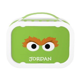 Oscar the Grouch Big Face | Add Your Name Lunch Box