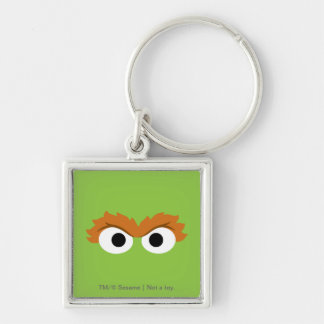 Oscar the Grouch Big Face Keychain