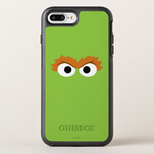 Oscar the Grouch Big Face OtterBox Symmetry iPhone 8 Plus/7 Plus Case