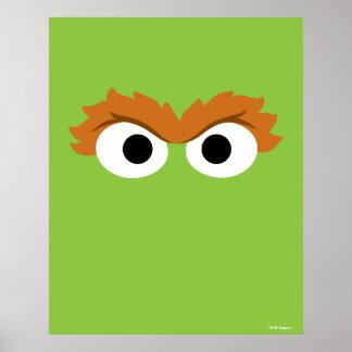 Oscar the Grouch Big Face Poster