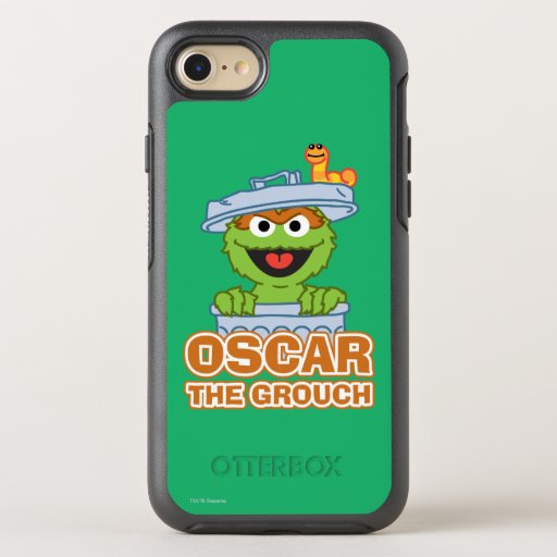 Oscar the Grouch Classic Style OtterBox Symmetry iPhone SE/8/7 Case