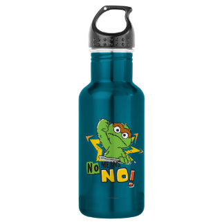 Oscar the Grouch Comic Stainless Steel Water Bottle