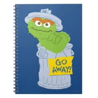 Oscar the Grouch Graphic Notebook