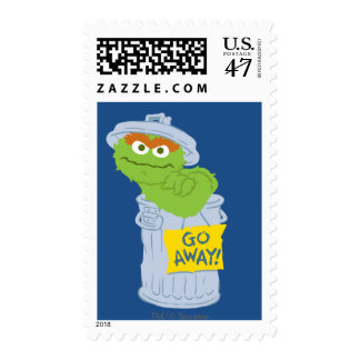 Oscar the Grouch Graphic Postage