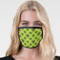 Oscar the Grouch Green Pattern Face Mask