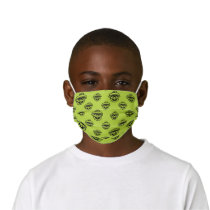 Oscar the Grouch Green Pattern Kids' Cloth Face Mask