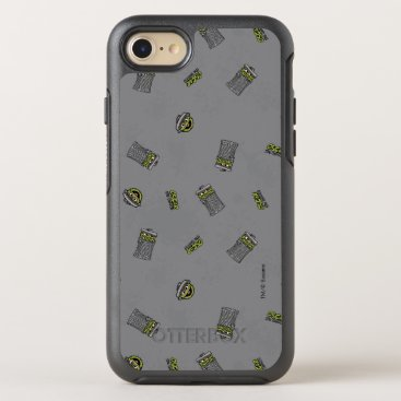 Oscar the Grouch | Grey Pattern OtterBox Symmetry iPhone 8/7 Case
