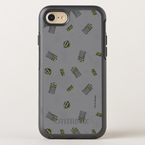 Oscar the Grouch | Grey Pattern OtterBox Symmetry iPhone SE/8/7 Case