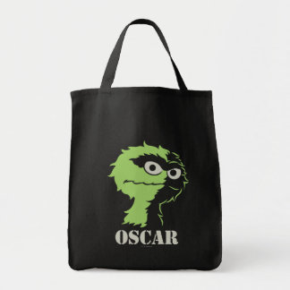 Oscar the Grouch Half Tote Bags