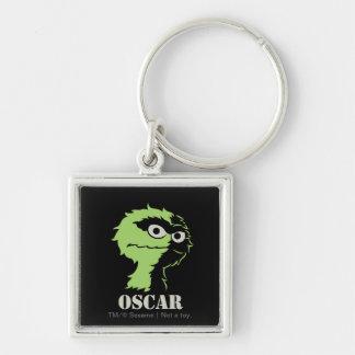 Oscar the Grouch Half Keychain
