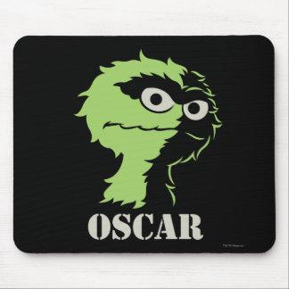 Oscar the Grouch Half Mouse Pad