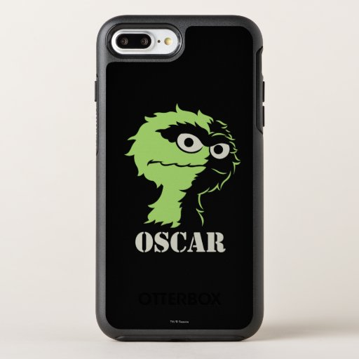 Oscar the Grouch Half OtterBox Symmetry iPhone 8 Plus/7 Plus Case