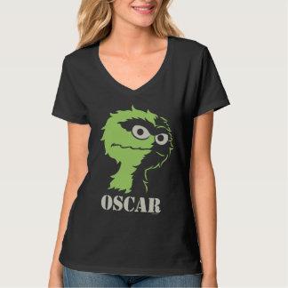 Oscar the Grouch Half Tee Shirt