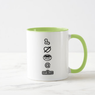 Oscar the Grouch Icons Mug