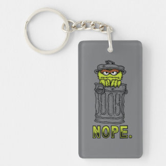 Oscar the Grouch - Nope. Keychain