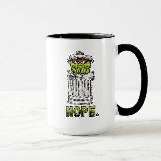 Oscar the Grouch - Nope. Mug