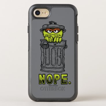 Oscar the Grouch - Nope. OtterBox Symmetry iPhone 8/7 Case