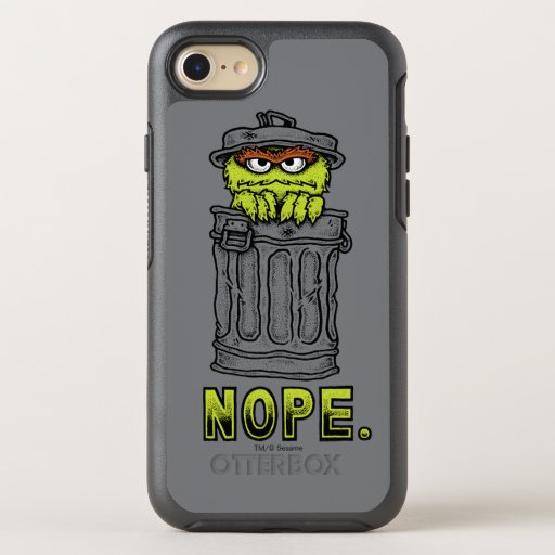 Oscar the Grouch - Nope. OtterBox Symmetry iPhone SE/8/7 Case