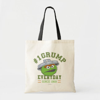 Oscar the Grouch Number 1 2 Tote Bag