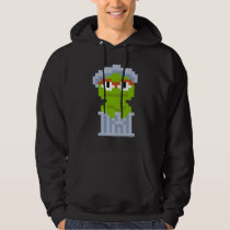 Oscar the Grouch Pixel Art Hoodie