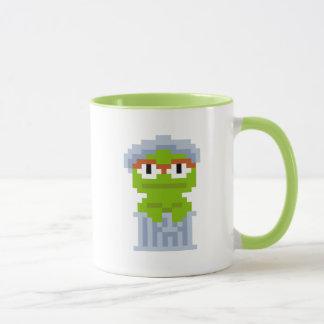 Oscar the Grouch Pixel Art Mug