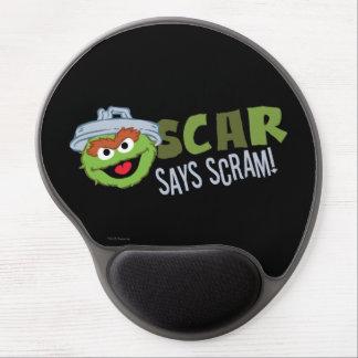 Oscar the Grouch Scram Gel Mouse Pad