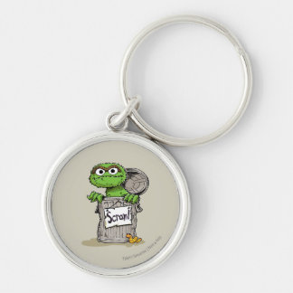 Oscar the Grouch Scram Keychain
