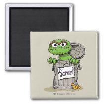 Oscar the Grouch Scram Magnet