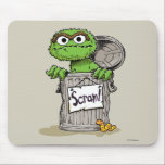 "Oscar the Grouch Scram Mouse Pad<br><div class=""desc"">Oscar the Grouch wants everyone to scram!       &#169;  2014 Sesame Workshop. www.sesamestreet.org</div>"