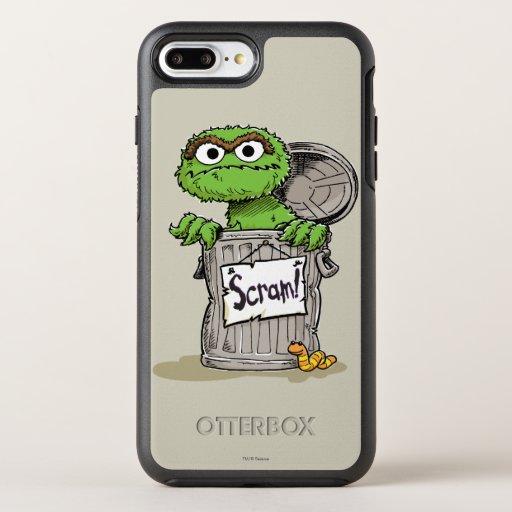 Oscar the Grouch Scram OtterBox Symmetry iPhone 8 Plus/7 Plus Case