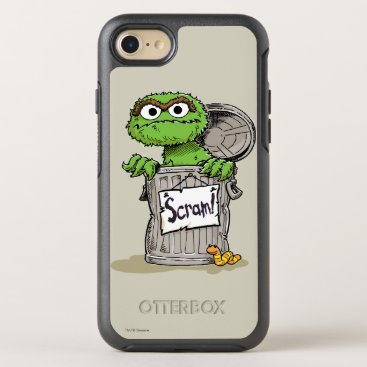 Oscar the Grouch Scram OtterBox Symmetry iPhone 8/7 Case