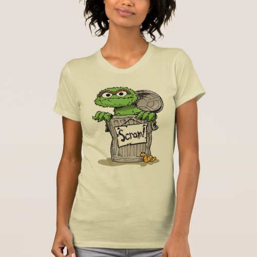 Oscar the Grouch Scram T_Shirt