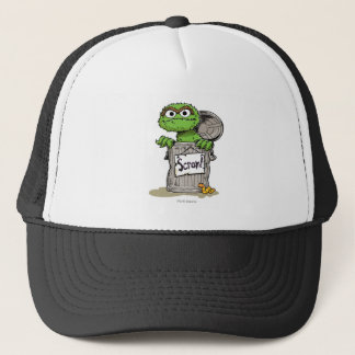 Oscar the Grouch Scram Trucker Hat