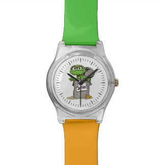 Oscar the Grouch Scram Wristwatch
