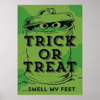 Oscar the Grouch - Smell my Feet Poster