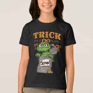 Oscar the Grouch - Trick or Treat, Scram! T-Shirt