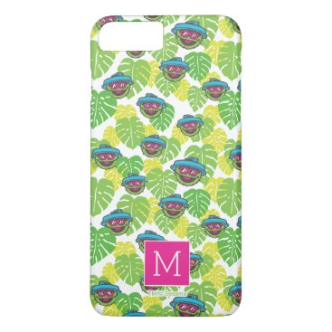 Oscar the Grouch | Tropical Pattern iPhone 8 Plus/7 Plus Case
